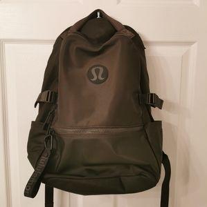 LuLu Lemon Forest Green Backpack